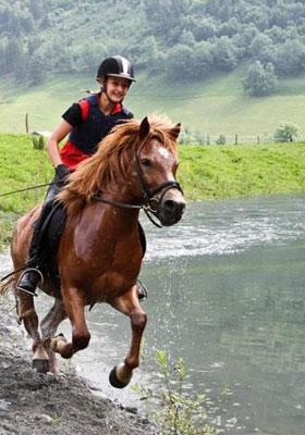Équitation de loisirs